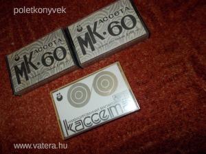 3DB RITKA MK-60  OROSZ -SZOVJET MAGNÓKAZETTA