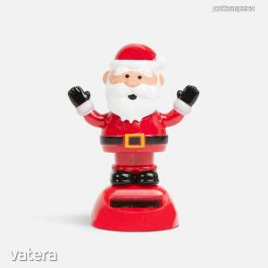 Karácsonyi szolár dekoráció mikulás