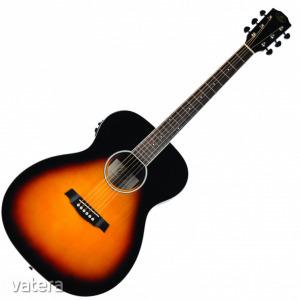 JM Forest - SGA30 EQ Grand Auditorium elektroakusztikus gitár ajándék félkemény tok