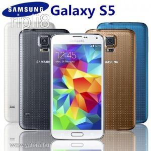 Samsung Galaxy S5 16GB G900F White Négymagos Okostelefon Mobil Okos Telefon Mobiltelefon 4 Magos