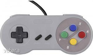 Joy-it Gamepad SNES Design Játékkonzol Raspberry Pi?, Univerzális Szürke