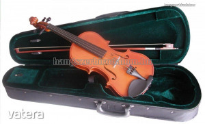 Soundsation Virtuoso Primo tanuló hegedű tokkal, vonóval, több méretben