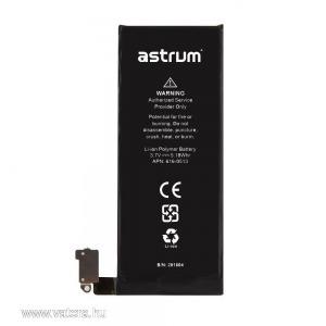 Astrum AIP4G Apple iPhone 4G kompatibilis APN független akkumulátor Li-Ion 1420mAh