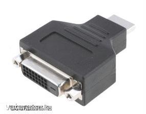 Adapter : HDMI (apa) / DVI (anya)