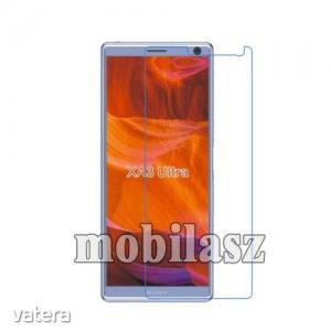 Sony Xperia XA3 Ultra, Képernyővédő fólia, Ultra Clear, 1db, törlőkendővel