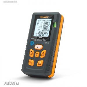 Digitális, Smart távolságmérő - Bluetooth kapcsolattal (10050S)