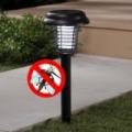Solar Zapper leszúrható napelemes kerti lámpa és rovarirtó UV fénnyel