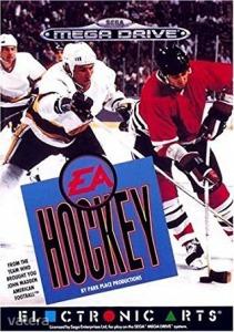 SEGA Mega Drive Játék EA Sports Hockey - SEGA Mega Drive - F