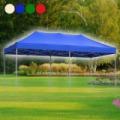 PR sátortetős kerti pavilon / prémium minőség, 3 × 6 m