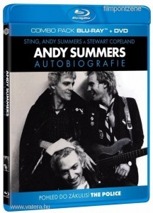 Andy Summers:Autobiography (Blu-ray+DVD) ÚJ POLICE