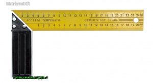 TOYA 18300 Asztalos derékszög 300mm