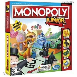 Hasbro Monopoly junior-új kiadás