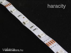 LED Szalag - Színes RGB 5050 - 12V SMD 120°- 30cm