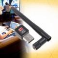 Mini USB wifi router antennával