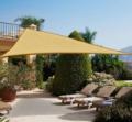 Napvitorla - Árnyékoló teraszra, erkélyre és kertbe háromszög alakú