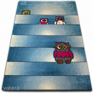 gyerekek szőnyeg Baglyok kék C412, 140x190 cm