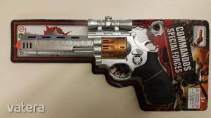 Játékfegyver/ Jelmez kiegészítő - Hangeffekttel