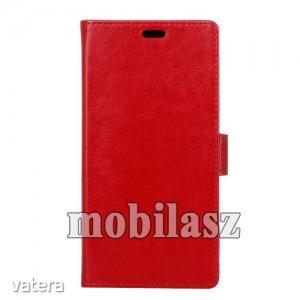 Notesz tok, Vodafone Smart N8, Piros