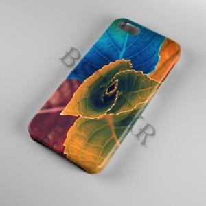 színes levelek Samsung Galaxy A40 tok hátlap tartó