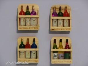 S20331846 Hűtőmágnes(boros üvegek)