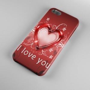 szives szerelmes iPhone 4 4s tok hátlap tartó telefontok