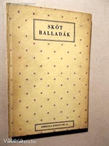 Somlyó György (ford.): Skót balladák / 1943 (*KZJ) - Vatera.hu Kép