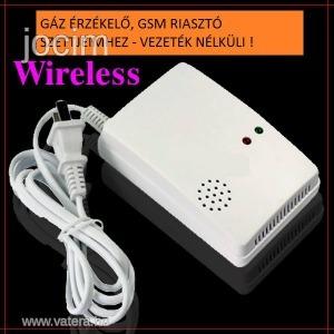 Gázérzékelő GSM Riasztó rendszerhez 315 & 433 MHz
