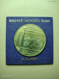 200 Ft Magyar Népköztársaság 1977 emlékérme Nemzeti Múzeum MDCCCII-MCMLXXVII