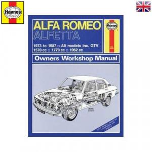 Alfa romeo Javítási kézikönyv, alfa romeo alfetta (1973 - 1987) up to e