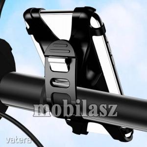 USAMS US-ZJ053 UNIVERZÁLIS motoros / kerékpáros tartó konzol mobiltelefon készülékekhez - sziliko...