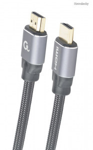 Gembird CCBP-HDMI-7.5M High speed HDMI with Ethernet Premium Series cable 7,5m Black