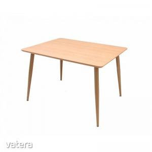Maya asztal - MDF lapos étkezőasztal, 90x120x76cm