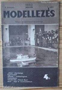 Modellezés folyóirat 1960 / II. évfolyam 1. szám (*79)
