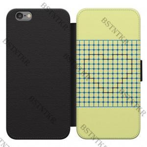 Szív optikai mintás Huawei P8 Lite kinyitható flip flipes tok oldalra nyíló 53e04c086c