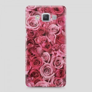 rózsás virágos Samsung Galaxy S6 Edge tok