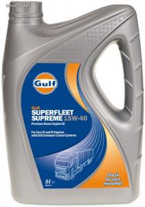 Gulf Supreme 15W40 tehergépjármű motorolaj 5L