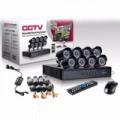 8 Kamerás Megfigyelőrendszer ingyenes szállítással