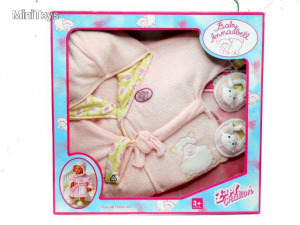 Baby Annabell fürdőköpeny 46 cm - Zapf