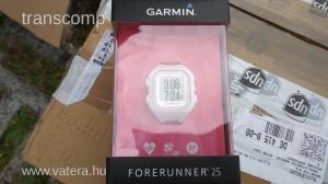 Garmin Forerunner 25 Fehér/Rózsaszín, S méretű sportóra