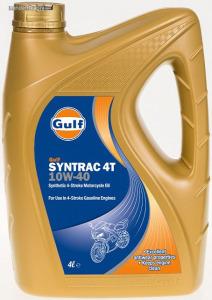 Gulf Syntrac 4T 10W40 négyütemű motorkerékpár olaj 4L