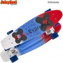 Juicy Susi vinyl board 2nd. generation red/blue/white