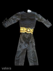 5-6 évesre fekete-sárga izmosított jelmez - Batman
