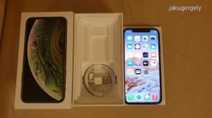 iPhone XS 64GB Space Gray   DOBOZÁBAN   KÁBELLEL   HIBÁTLAN ÁLLAPOT