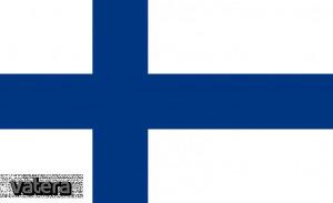 Nemzeti lobogó ország zászló nagy méretű 90x150cm - Finnország, finn