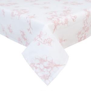 Clayre & Eef LBF01 Terítő 100x100cm, Lovely Blossom Flowers Kép