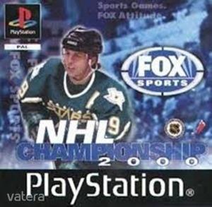 PS1  Játék NHL Championship 2000