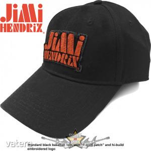 Jimi Hendrix - Unisex Baseball Cap. Orange Stencil Logo. baseball sapka - 4999 Ft Kép