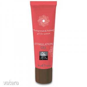 Stimulation Gel - Pomegranate & Nutmeg 30 ml női vágyfokozó