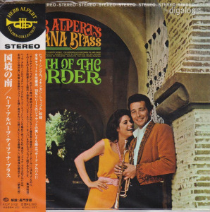Herp Alpert South Of The Border Japán CD