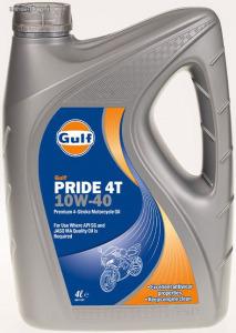 Gulf Pride 4T 10W40 négyütemű motorkerékpár olaj 4L
